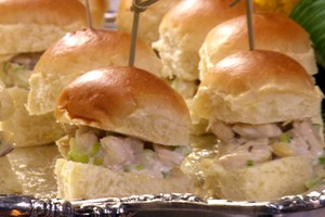Chicken Salad Sliders. (Photo Courtesy of Food Network Asia)
