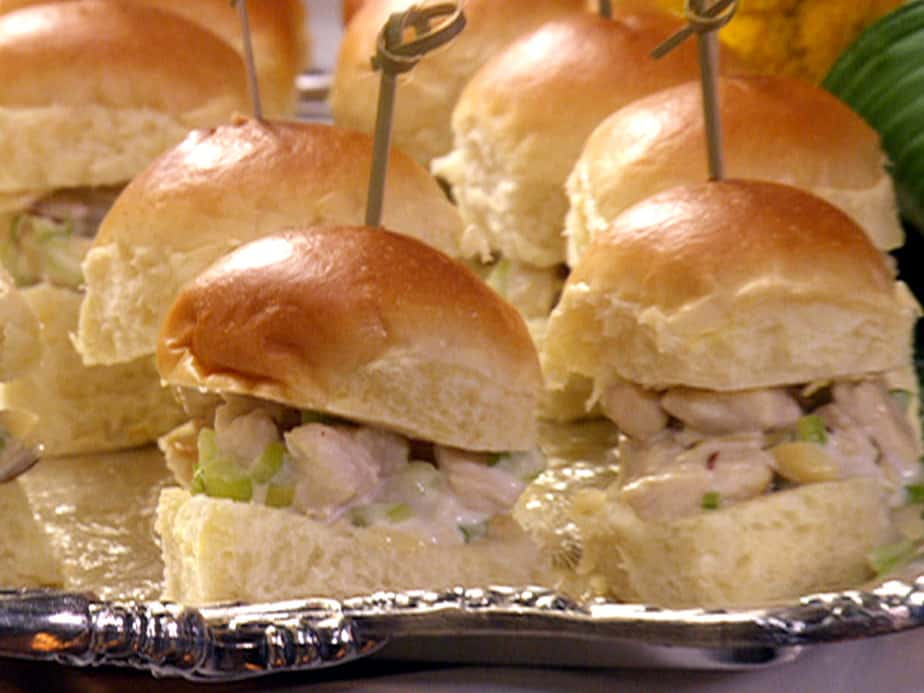 The Pie Hole: Memorable Chicken Salad Sliders. | Quiet Lunch.