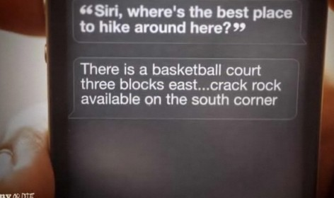 (Siri)ously? (Photo Courtesy of Staxx TV)