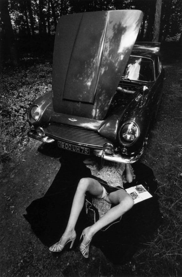 Photography by Jeanloup Sieff.