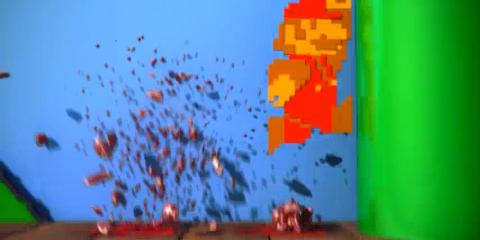 Super Modern Mario Bros.  E3 2012 gameplay    YouTube