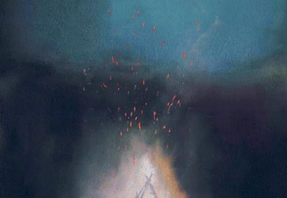 """""""Campfire"""". (Courtesy Danna Ray.)"""