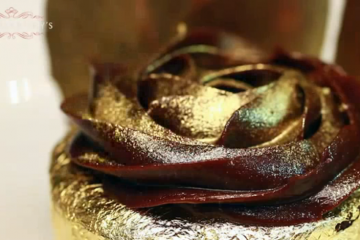 THE MOST EXPENSIVE  EDIBLE  CUPCAKE IN THE WORLD Making of The Golden Phoenix   YouTube