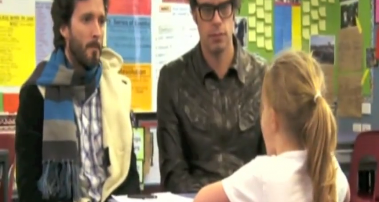 Flight of Conchords FEEL INSIDE AND STUFF LIKE THAT WITH KIDS   YouTube (1)