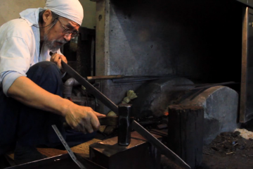 Handmade Portraits  The Sword Maker on Vimeo