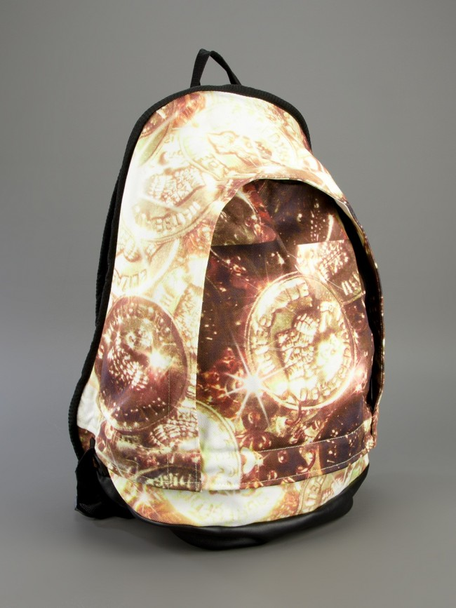 gold backpack feature