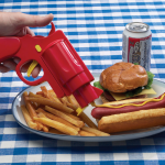 Condiment Dispenser Gun