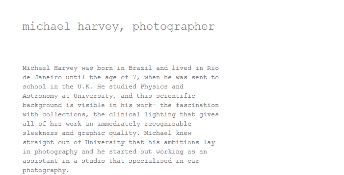 michael harvey  photographer      447774108550