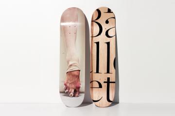 Henry Leutwyler Ballet Skate Deck