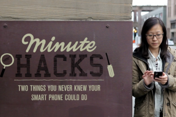 Minute Hacks  Two Things You Never Knew Your Smartphone Could Do