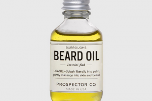 Prospector Co.   Burroughs Beard Oil