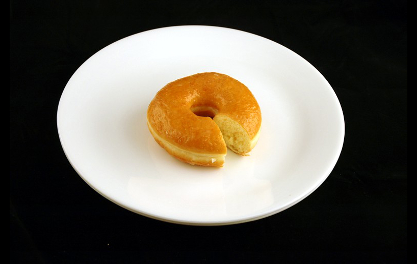 Glazed Doughnut. | 52 grams = 200 Calories. | Courtesy of wiseGEEK.