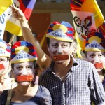 Downing street camerson masks 27 June 2011