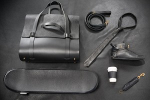 Quiet_Lunch_Magazine_Buscemi_Deerskin_Leather_Skateboard 3