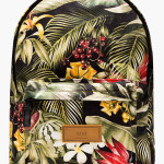 Quiet_Lunch_Magazine_Ami_GREEN BOTANICAL PRINT CANVAS BACKPACK