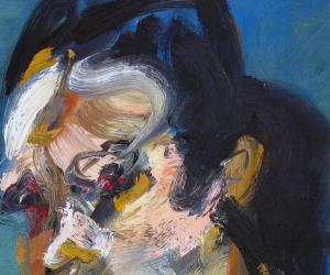 Han Xiao  Oil 2013 Painting  2013.08.06《Self portrait Ⅳ》