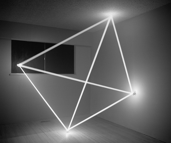 Thought Form (Tetrahedron), 2012. (Courtesy of James Nizam.)