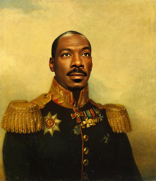 Eddie Murphy. (Courtesy of Replaceface.)
