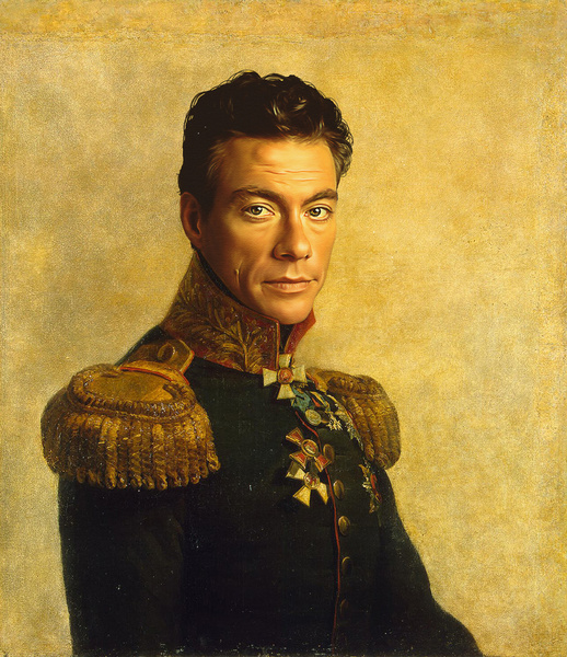 Jean Claude Van Damme. (Courtesy of Replaceface.)