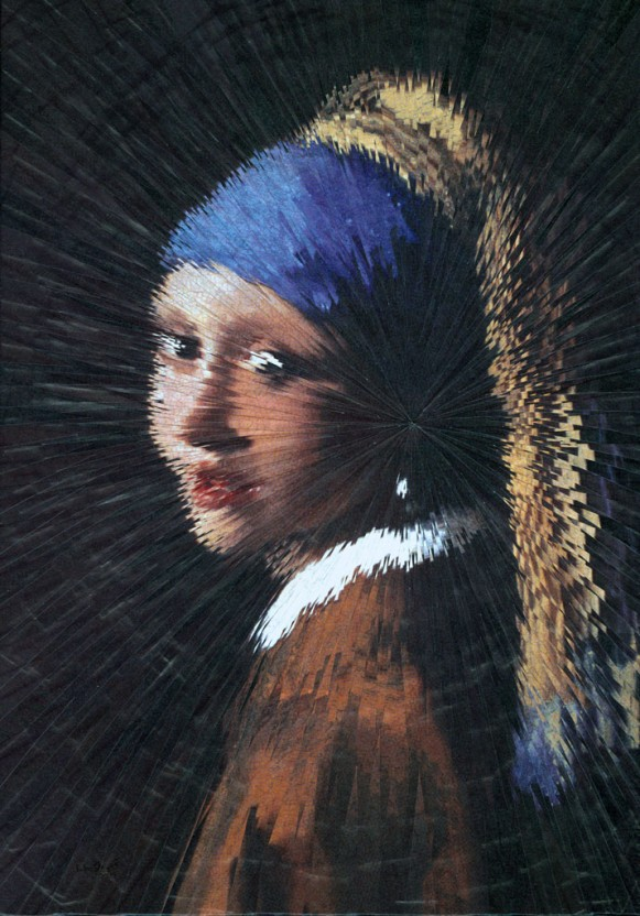 Exploded Girl with the Pearl Earring. (Courtesy of Lola Dupré.)