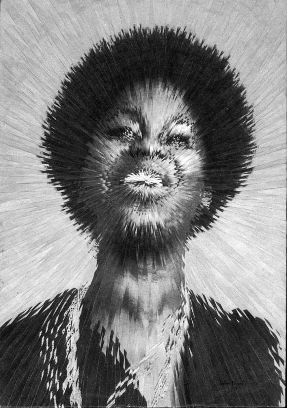 Exploded Nina Simone. (Courtesy of Lola Dupré.)