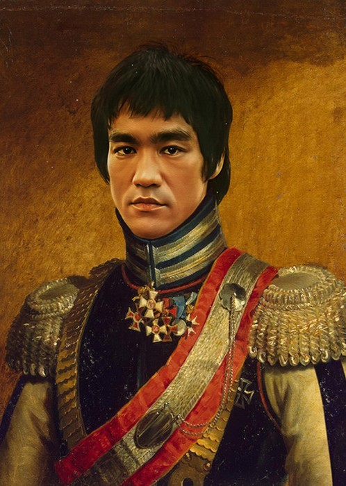 Bruce Lee. (Courtesy of Replaceface.)
