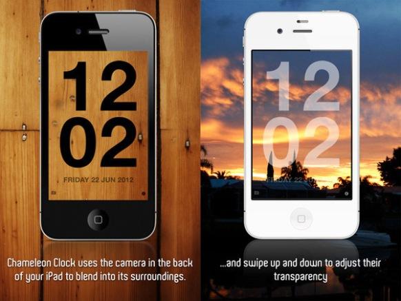 Chameleon Clock iOS App