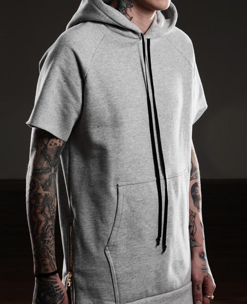 Essential Short-Sleeve Hoodie.