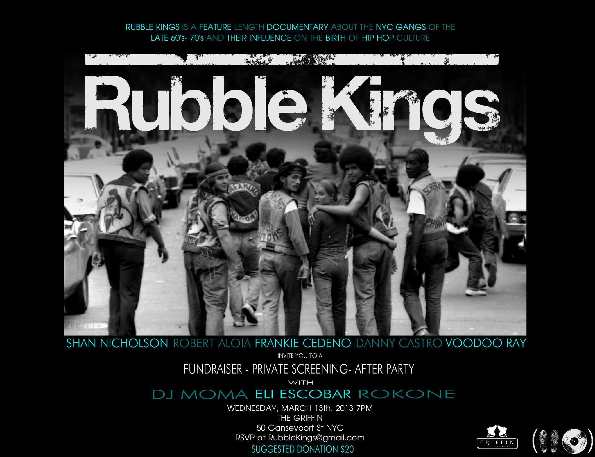 Courtesy of Rubble kings.