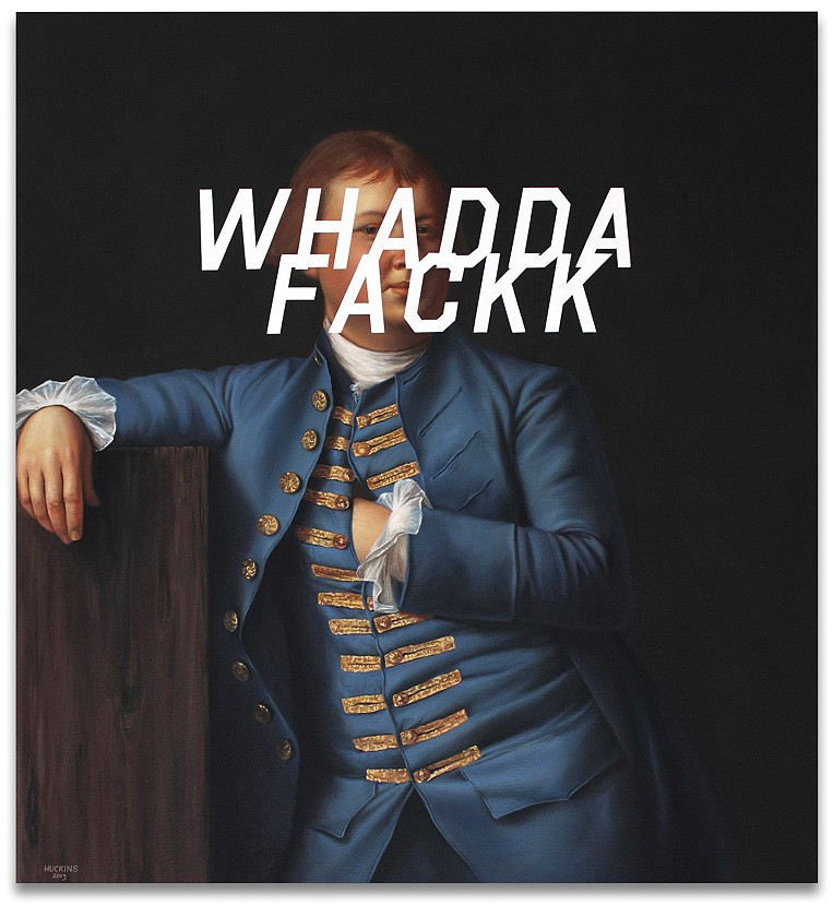 Lemuel Cox: What The Fuck, 2013.