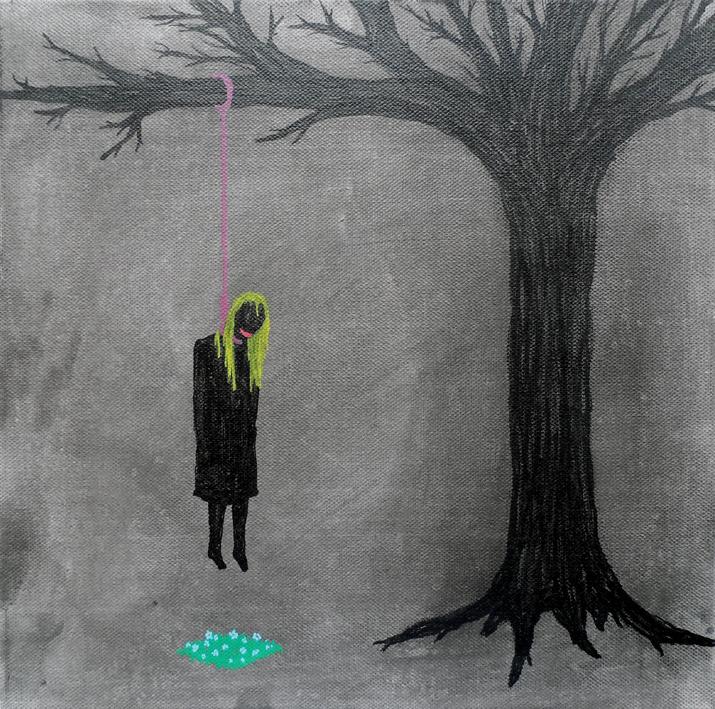L'arbre aux fleurs, 2013. (Courtesy of Cédric De Smedt.)
