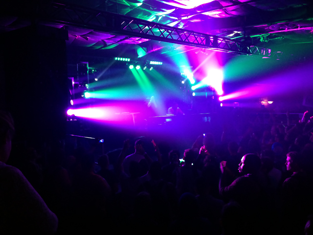 Just Blaze and Baauer tear the roof off the joint. (Courtesy of Jamieson Hill.)