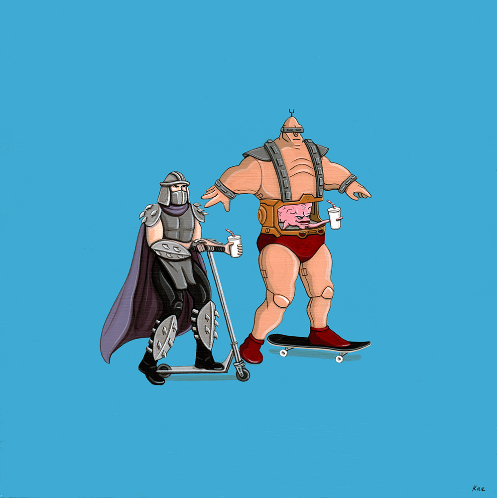 Shredder + Krang Ride. (Courtesy of Kiersten Essenpreis.)