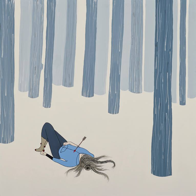 A Walk in the Woods, 2013. (Courtesy of Hannah Dansie.)