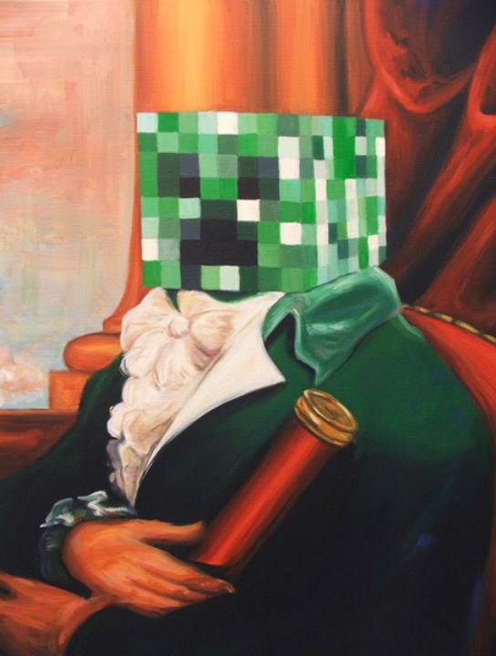 """Captain Creeper"" - Based on The British (English) School's ""Captain Sollit""."