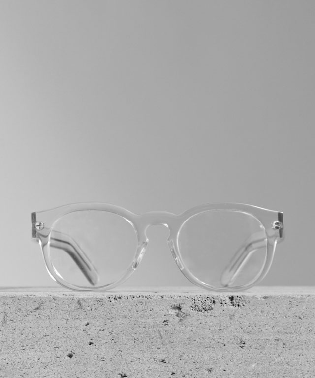 Larke Unisex Horne Clear Glasses. (Courtesy of Larke.)