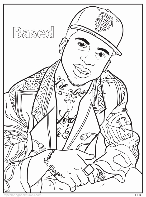 Courtesy of Bun B's Rap Coloring and Activity Book.