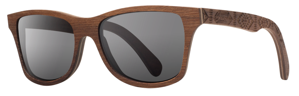 Canby x Pendleton x Walnut x Grey Polarized. | Courtesy of Shwood.