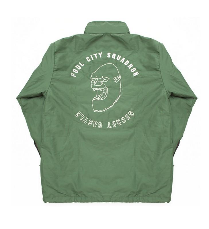 Yeti Head Jacket.   Courtesy of Secret Castle.