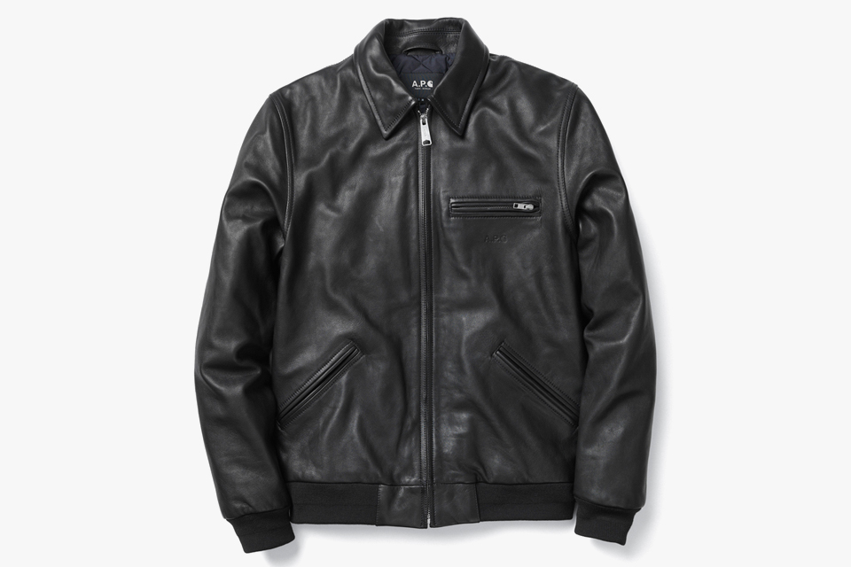 Detroit Leather Jacket. | Courtesy of A.P.C.