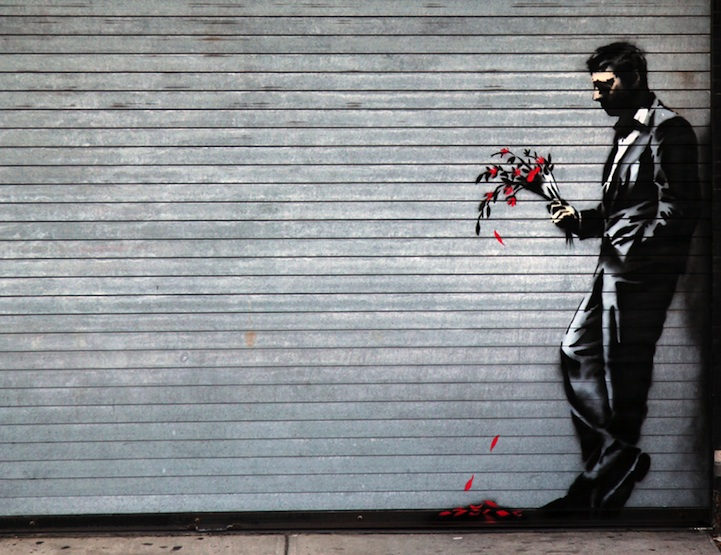 Courtesy of Banksy.