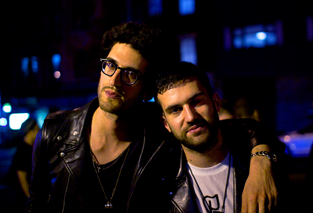 Chromeo & A-Trak. (Michael Della Polla/Quiet Lunch Magazine.)