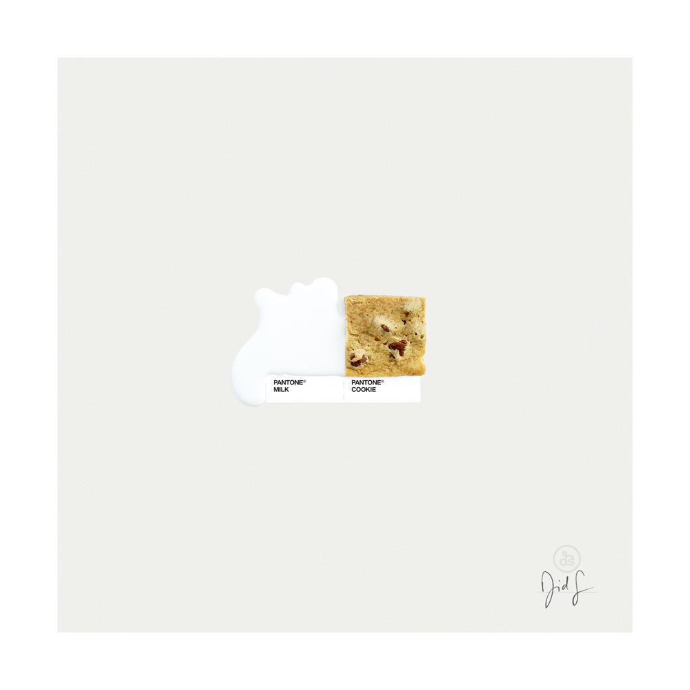 Milk & Cookies. | David Schwen.