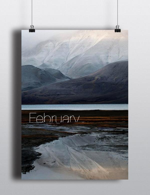 February. | Arina Pozdnyak.