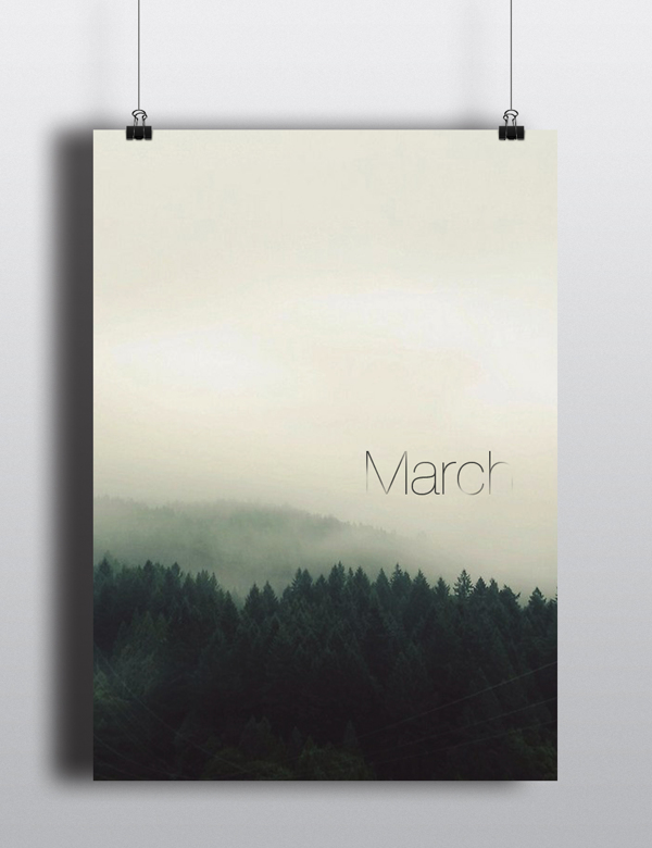 March. | Arina Pozdnyak.
