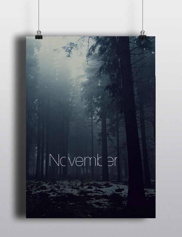 November. | Arina Pozdnyak.
