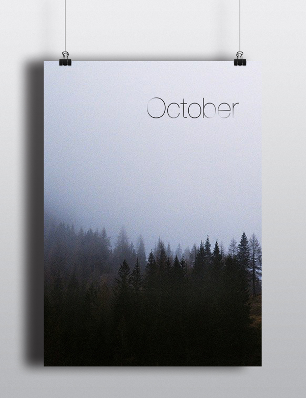 October. | Arina Pozdnyak.
