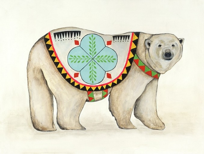 Polar Bear. | Lisa Congdon.