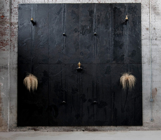 Cosmic Dojo, 2009. | Rashid Johnson.