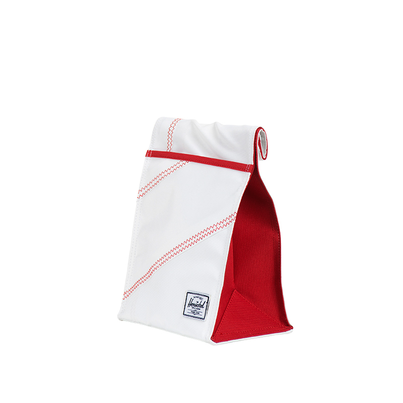 Canteen in White/Racing Red. | Herschel Supply Co.